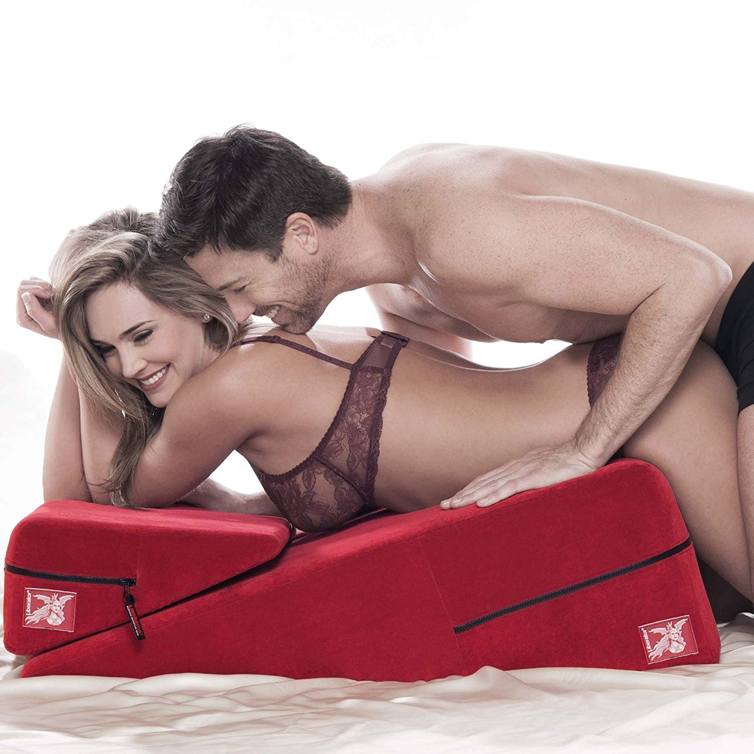 Love Triangle Sex Position Wedge Pillow