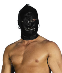 BDSM Маска кожаная ZADO Leather Head Mask