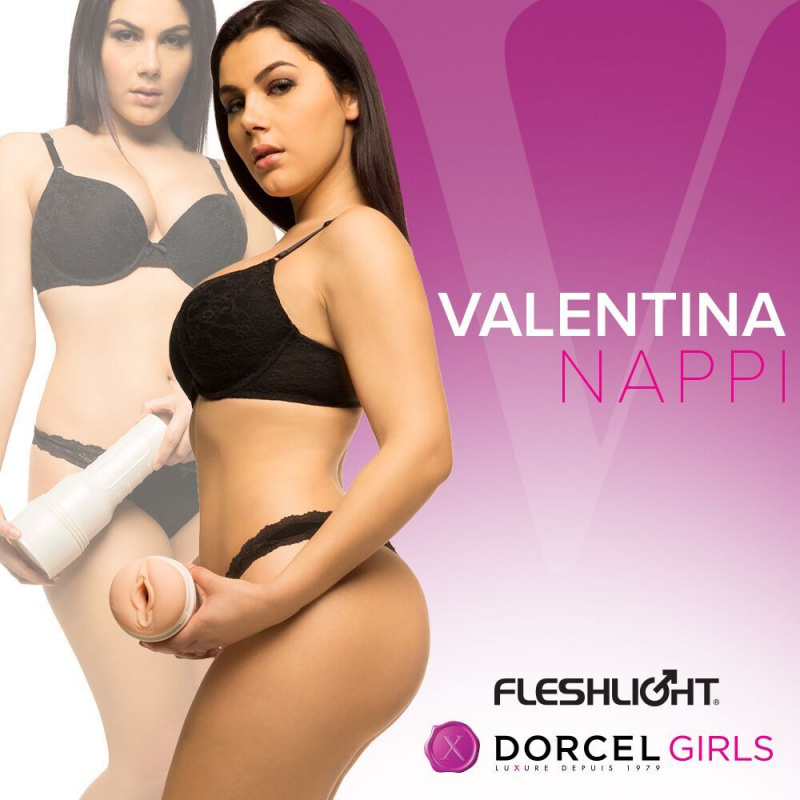 FLESHLIGHT  DORCEL GIRL Мастурбатор Valentina Nappi,  вагина